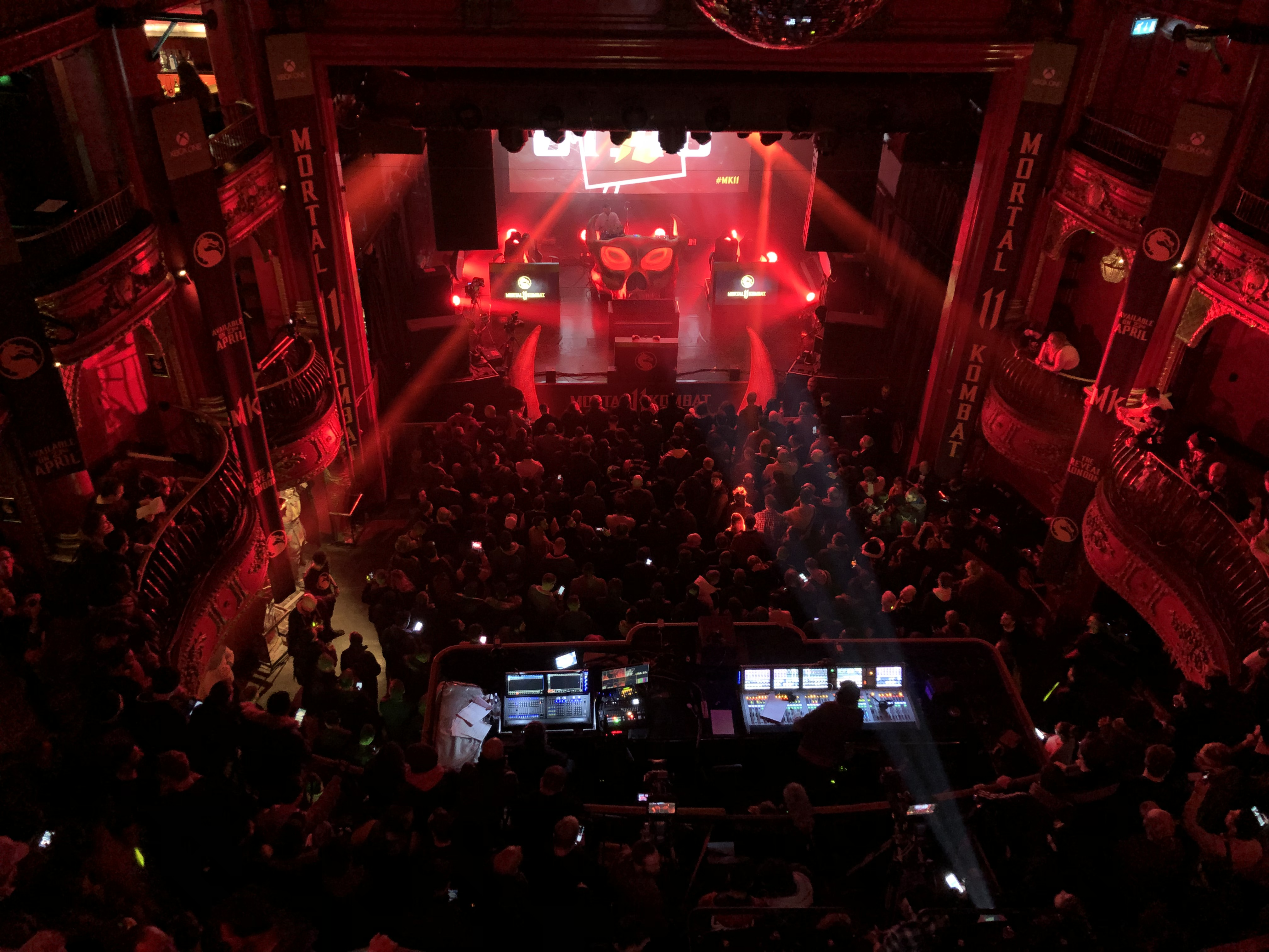 An internal shot of the KOKO in Camden