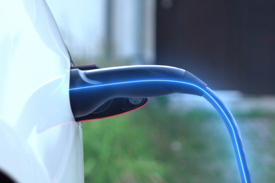Smart cable, charging a car
