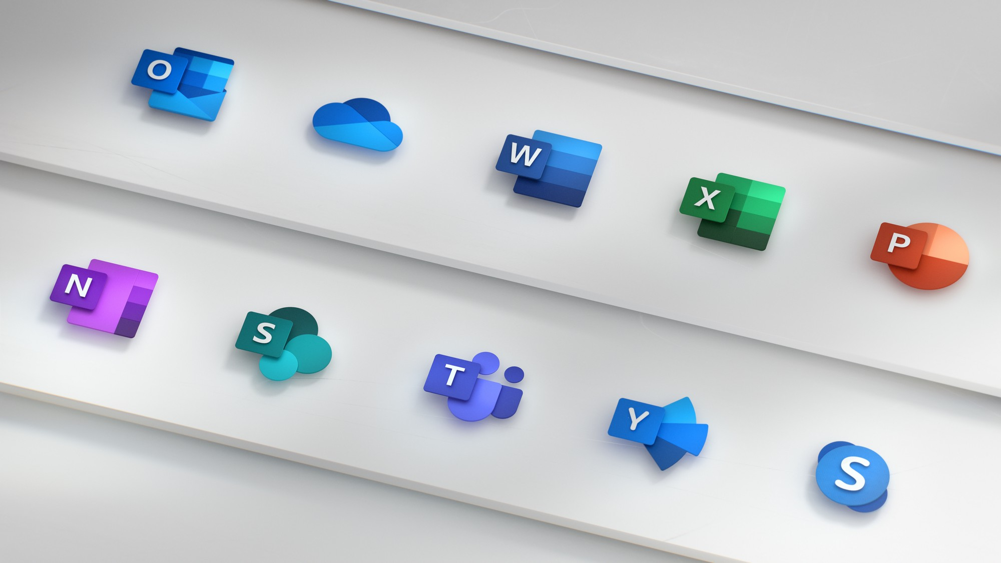 Evolution of new Office icons