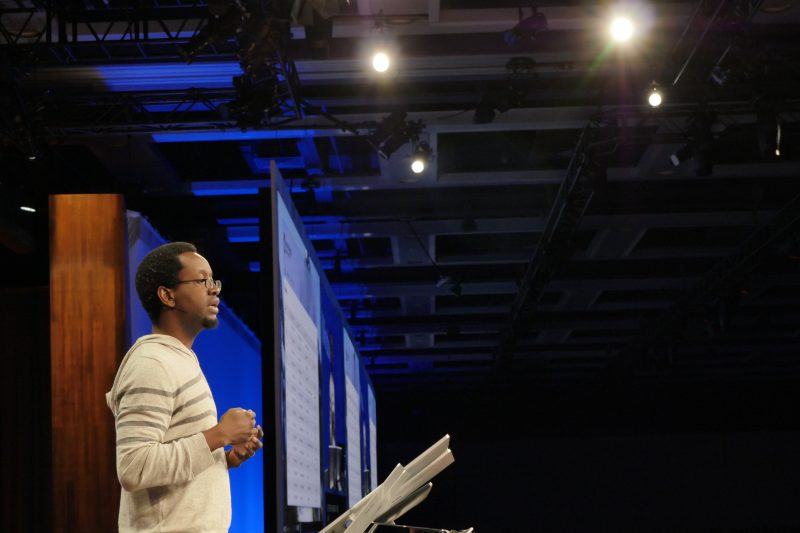 Abolade Gbadegesin, Project Rome architect, Microsoft, at Build 2017