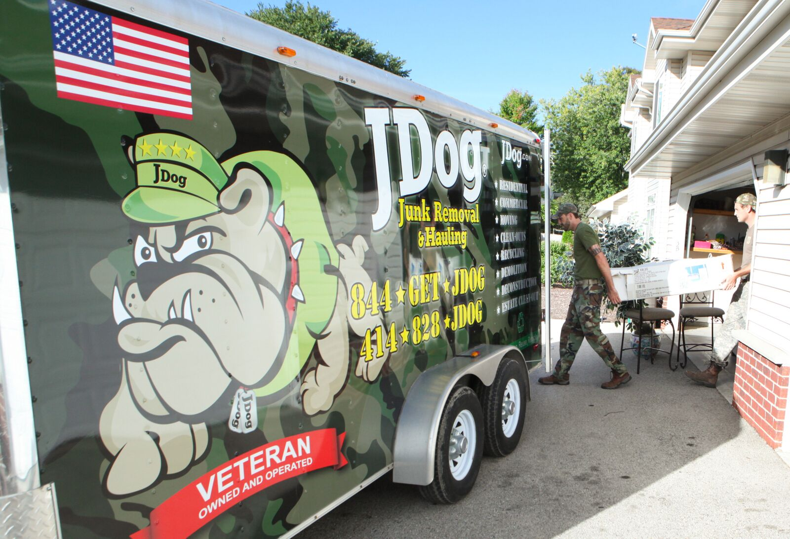 Mission ready: JDog helps veterans take a bite out of