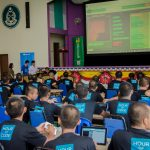 Hour of Code with inmates from the Henry Gurney Prison School, Malacca